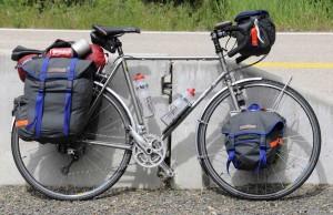 Alan's bike