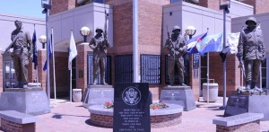 Medal of Honour statues