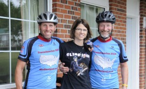 Pam, cyclist