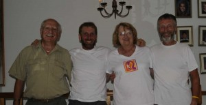 Dennis, Alan, Diane, Chris