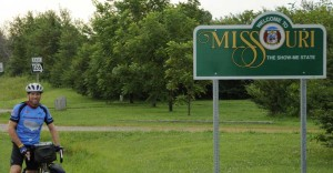 Entering Missouri