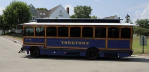 Yorktown Trolly Bus